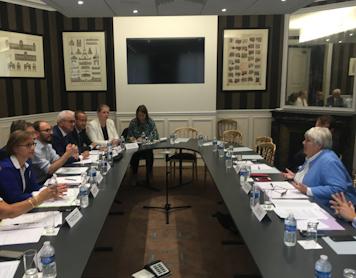 Rendez-vous avec la Ministre Jacqueline GOURAULT sur la question des dotations aux collectivités locales de Maine-et-Loire