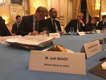 Mon audition par le Premier Ministre avec le Conseil national de la transition écologique